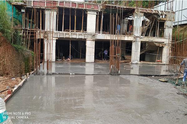 Building work in progress
