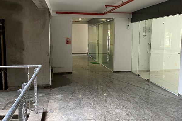 Corridor and Lift Area